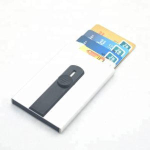 Card pop up RFID protection