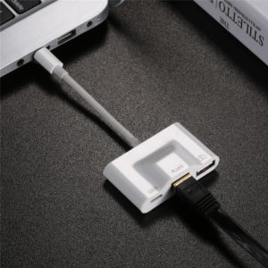 Adapter Lightning Internet 3 in 1