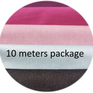 10 meters package of stainless steel fabric