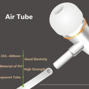 Air Tube Earphones with low EMF