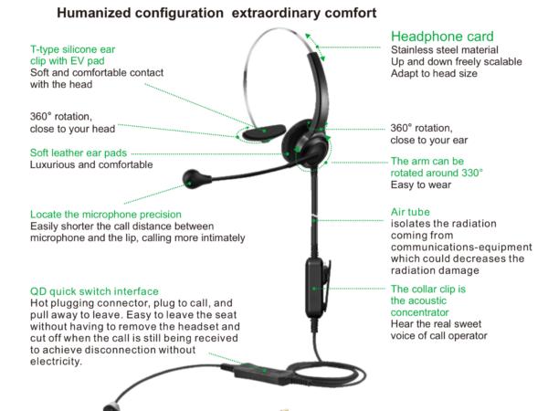 Airtube Caller headset