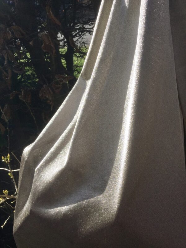 Silver Blanket and Scarf