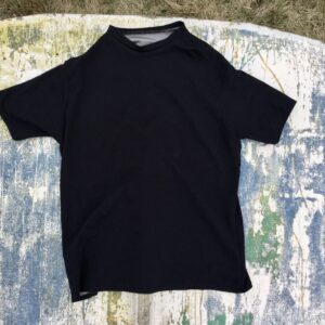 Silver Cotton T-Shirt