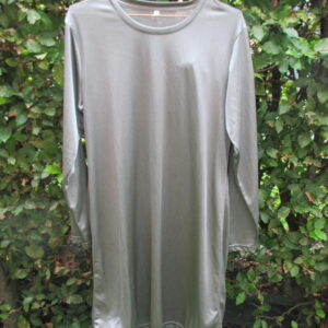 Silver Basic Dress